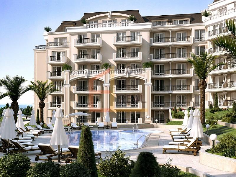 Продажа: Трёхкомнатная квартира с панорамным видом на море