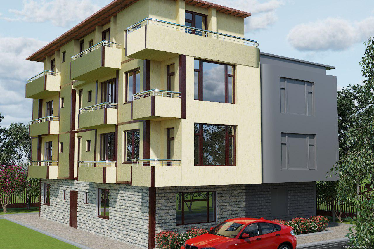 For Sale: Two-bedroom apartment in a new residential building